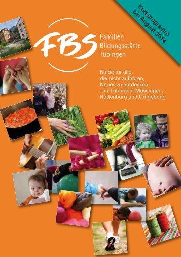 Programmheft - Familien-Bildungstätte Tübingen