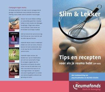 Slim & Lekker. Tips en recepten voor als je reuma ... - Reumafonds