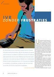 (IVR) zonder frustraties - Callcenter Makelaar