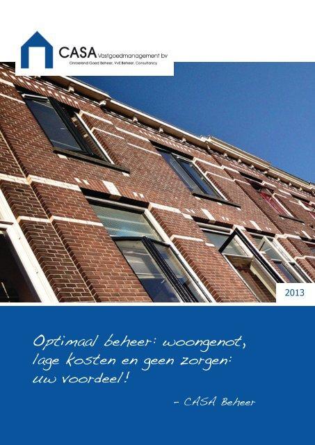 download brochure - CASA Vastgoedmanagement bv