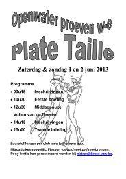 Zaterdag & zondag 1 en 2 juni 2013 Programma - Samantha Maaseik