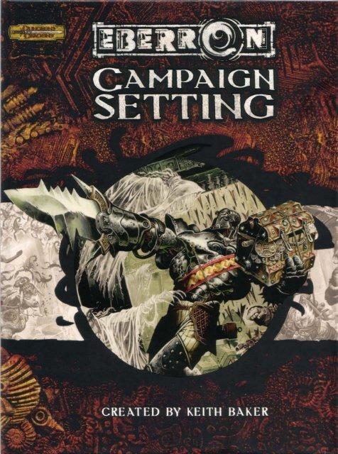 Eberron Campaign Setting pdf
