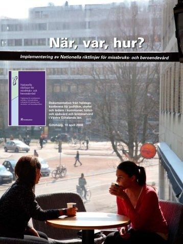 Dokumentation från konferens om Nationella riktlinjer