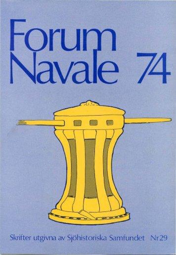 Skrifter utgivna av Sjöhistoriska Samfundet N r 29