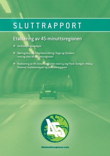 rapport mai 2009 - 45 Minuttsregionen