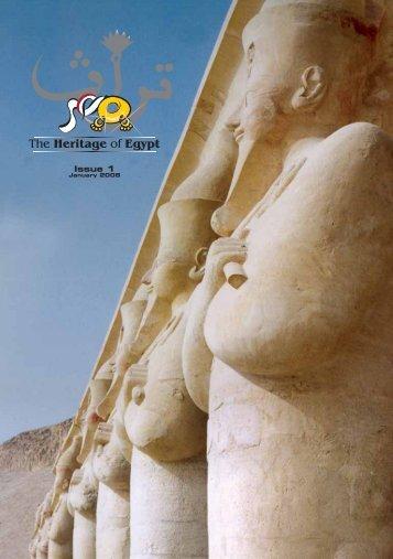 The Heritage of Egypt no. 1 (January 2008) - Egyptologists ...