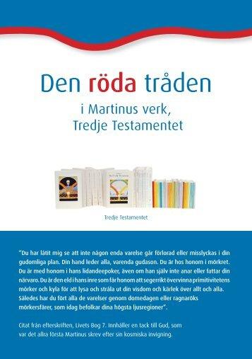 Den röda tråden - Martinus åndsvidenskab Det Tredie Testamente