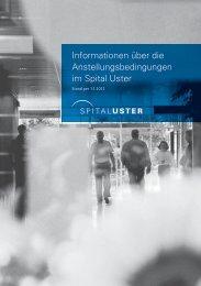 Informationen über die Anstellungsbedingungen im Spital Uster