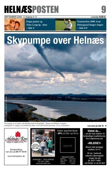 Skypumpe over Helnæs - helnæsposten