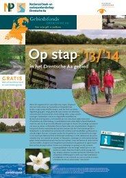 Op Stap krant 2013/14 - Drentsche Aa