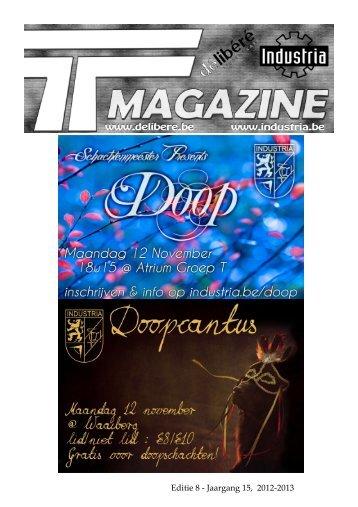Editie 8 - Jaargang 15, 2012-2013 - Industria