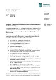 Viborg Kommune - 4. runde - Økonomi- og Indenrigsministeriet