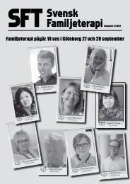 SFT – Svensk Familjeterapi nr 2 2012 - Svenska föreningen för ...