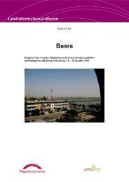 2012-07-03 Rapport från svenska Migrationsverkets och ... - LandInfo