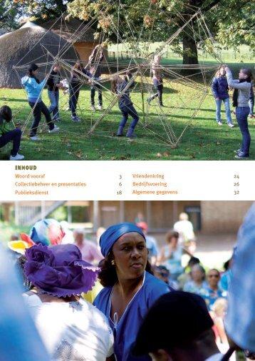 jaarverslag 2010 - Afrika Museum