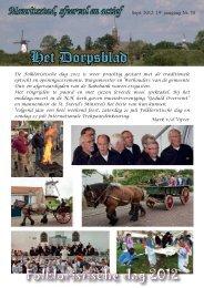 Dorpsblad september 2012 - IJzendijke-online