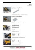 Aanbouwwerktuigen SHERPA mini-loaders - sherpa 300 - Page 7