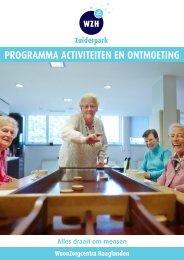 Activiteitenprogramma - Wzh