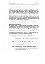 FØRTIDSPENSIONER OG PERSONLIGE TILLÆG (48) - Budget- og ...