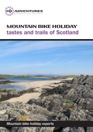 tastes and trails of Scotland - Highlands and Islands Adventures