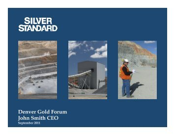 T A 0930 Siver StandardCorp PPT - September ... - gowebcasting