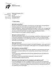 Belastingvoorstellen 2013 - Kijk mee met de gemeenteraad van ...