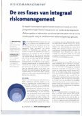 De zes fases van risicomanagement, door Linda Kleijheeg en Bert ... - Page 2
