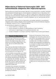 Miljøvurdering af Odsherred Kommuneplan 2009 – 2021 ...