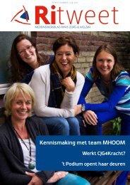 Ritweet juli 2012 - Riwis Zorg & Welzijn