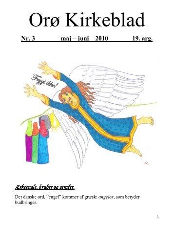 Nr. 3 maj – juni 2010 19. årg. - Orø Kirke