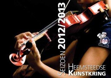 Klik hier voor het programma 2012-2013 - Heemsteedse Kunstkring