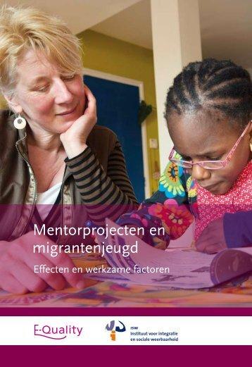Mentorprojecten en migrantenjeugd: effecten en werkzame factoren