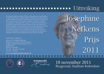 Josephine Nefkens Prijs 2011