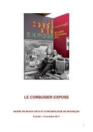 Le Corbusier expose.Epreuve revue et corrig-e(7) - Mission TICE