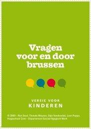 Vragen voor en door brussen - Hogeschool Gent