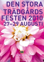 DEN STORA TRÄDGÅRDS FESTEN 2010