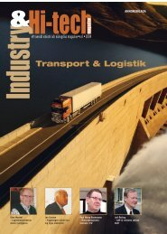 Industry & High-tech Magazine – Transport & Logistik