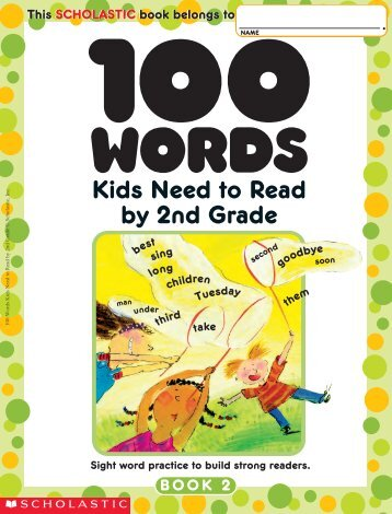100 Words Kids Need to Read by 2nd Grade.pdf