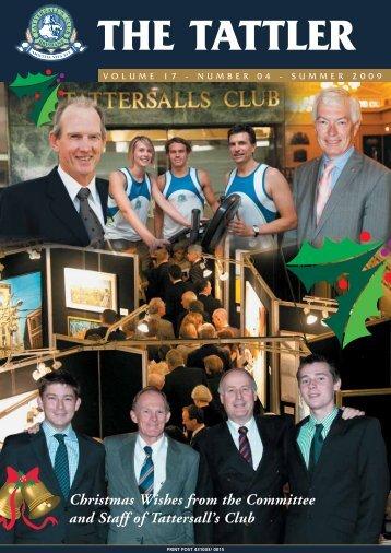 cellar news - Tattersalls Club