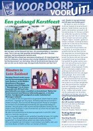 Nummer 1, Januari 2006 - Voordorp Vooruit