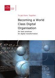Becoming a World Class Digital Organisation - BearingPoint