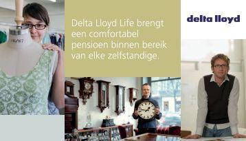 Gids voor de zelfstandigen - Delta Lloyd Life