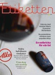 Etiketten 3/2011 - Alko