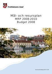 Mål- och resursplan - IT Pedagogisk Forum i Trollhättan