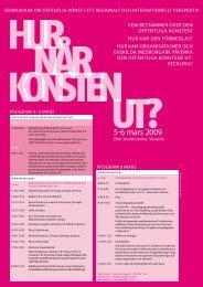 Hur når konsten ut.pdf - Västmanlands läns museum