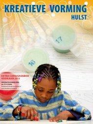 extra cursusaanbod voorjaar 2013 - Stichting Kreatieve Vorming