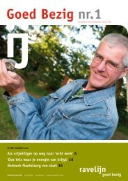 Goed Bezig nr.1 - Stichting Ravelijn