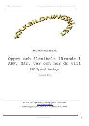 ABF TH KKS.pdf - Pedagogiska Resurser - Folkbildningsnätet