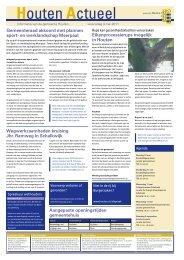 Houten Actueel nr. 2011-18 van 04-05 - Gemeente Houten
