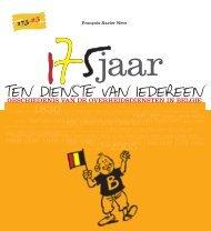 175 jaar ten dienste van iedereen (PDF, 12.31 ... - Fedweb - Belgium